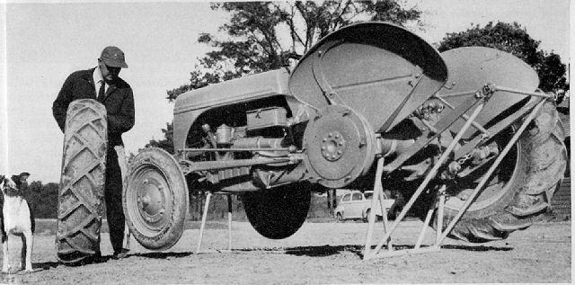 FIREBALL, Ford 9n/2n/8n hybrid tractor